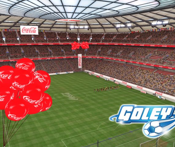 netcom medya coca cola goley oyun ici entegrasyon